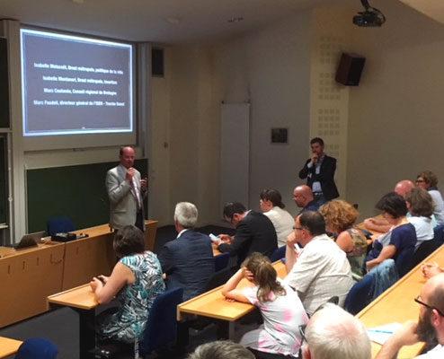 Intervention de Marc Coatanea, pour la Région Bretagne, pour les portes ouvertes Code.bzh Grande Ecole du Numérique